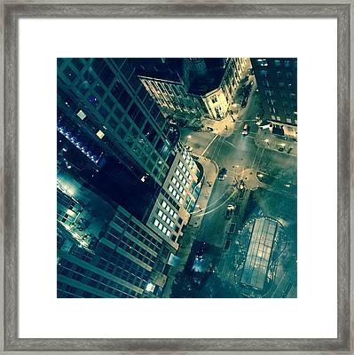 Light In The City 2 Framed Print