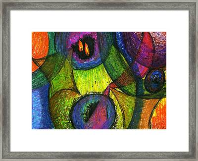 Light In The Darkness Framed Print by Cassandra Donnelly