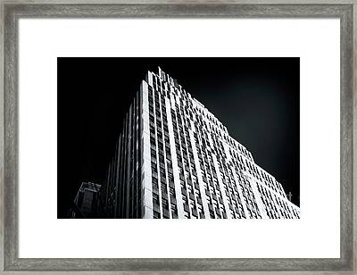 Framed Print featuring the photograph Light In The Naked City by John Rizzuto