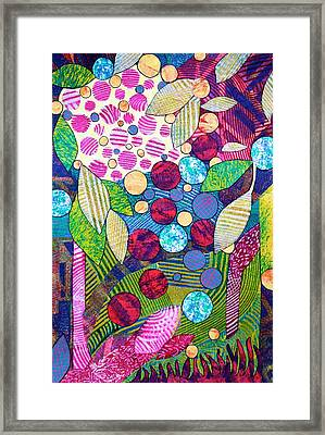 Light Infused Forest Framed Print by Polly Castor