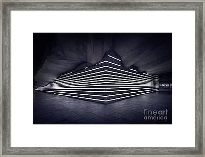 Light Into The Darkness Framed Print by Evelina Kremsdorf