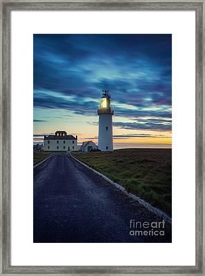 Light Keeper Framed Print