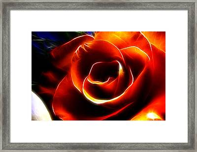 Light Kisses Framed Print
