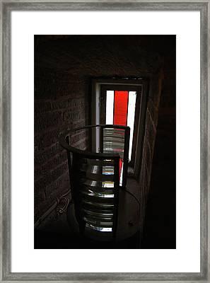 Light Lens Framed Print