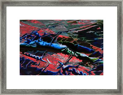 Light Metal 1 Framed Print by Chris Rodenberg