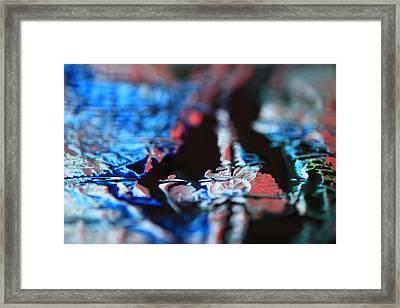 Light Metal 12 Framed Print by Chris Rodenberg