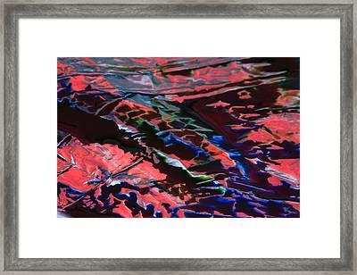 Light Metal 6 Framed Print by Chris Rodenberg