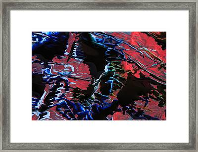 Light Metal 7 Framed Print by Chris Rodenberg