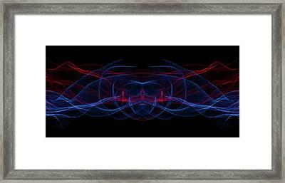 Light Motion Series 3 Framed Print by Nathan Larson