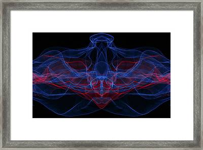 Light Motion Series 4 Framed Print by Nathan Larson