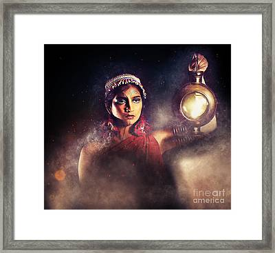 Light My Path Framed Print