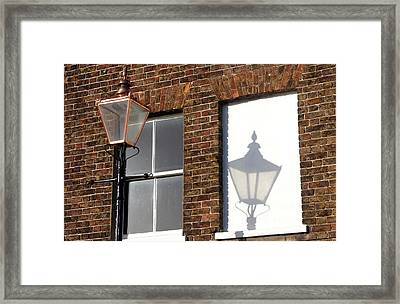 Light My Wall 4 Framed Print by Jez C Self