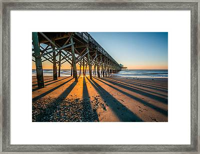 Light-n-shadow Framed Print
