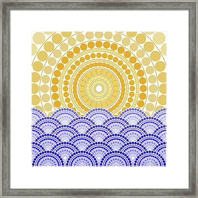 Light Of Dawn Framed Print by Absentis Designs