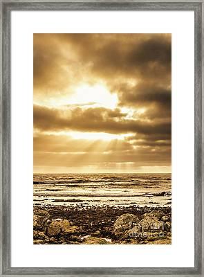 Light Of Dusk Framed Print