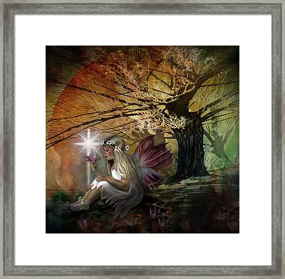 Light Of Earendil Framed Print by Debra and Dave Vanderlaan