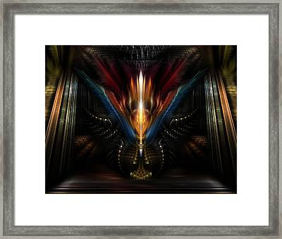 Light Of Fire Framed Print