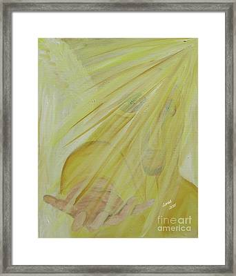 Light Of God Enfold Me Framed Print