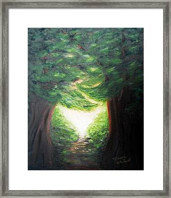 Light Of Hope Framed Print