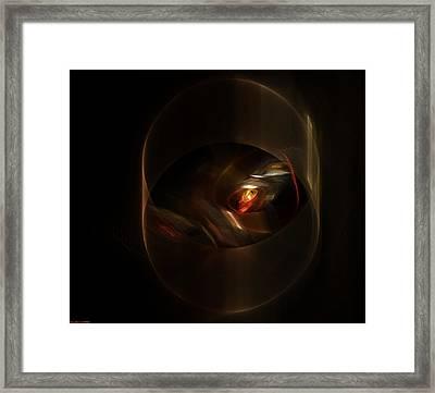 Light Of Hope Framed Print by Shan Peck