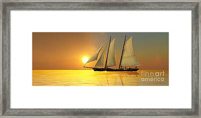 Light Of Life Framed Print