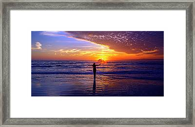 Light Of My Life Framed Print