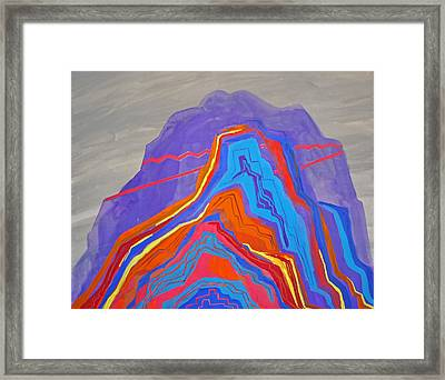 Light Of The Canyon  Framed Print by Nicholas Vitale