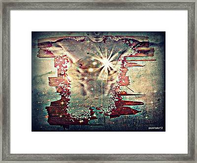 Light Of The Heart Framed Print by Paulo Zerbato