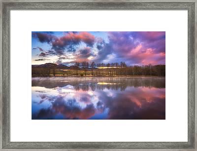 Light Of The Lake Framed Print by Darren  White