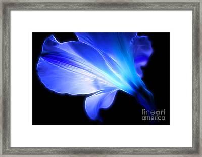 Light Of The Soul Framed Print by Krissy Katsimbras