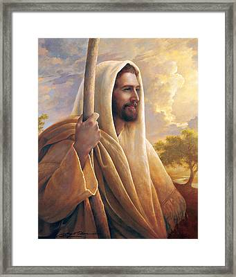 Light Of The World Framed Print