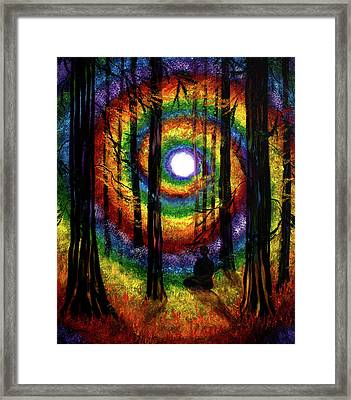Light Of Tolerance Framed Print by Laura Iverson