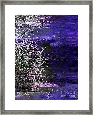 Light On Shore Framed Print