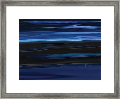 Light On The Horizon Framed Print