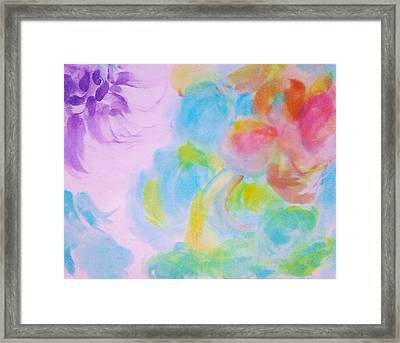 Light On The Rose Framed Print by Tonya Merrick