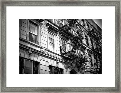 Light On The Window Framed Print by John Rizzuto