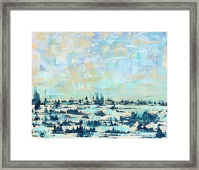 Light Over Broad Creek Framed Print
