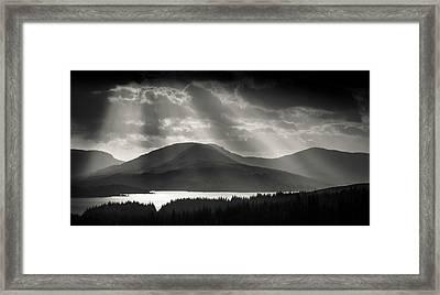 Light Over Loch Tulla Framed Print