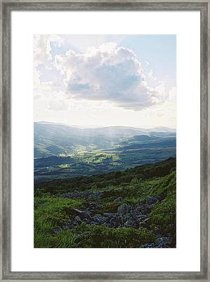 Light Over The Valley 2 Framed Print by Anton Popov