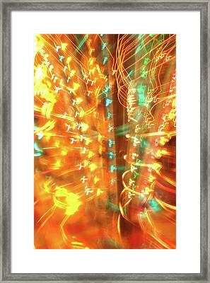 Light Painting 1 Framed Print