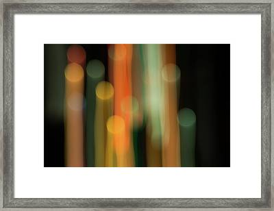 Light Painting No. 1 Framed Print