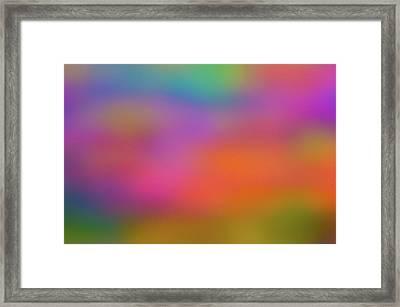 Light Painting No. 7 Framed Print