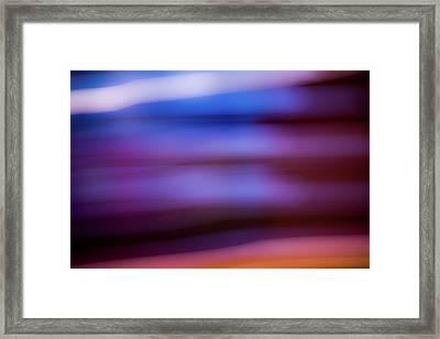 Violet Dusk Framed Print