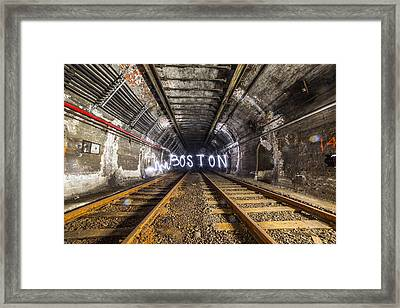 Light Painting Framed Print by Ryan McKee