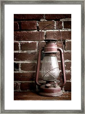 Light Past Framed Print by Olivier Le Queinec