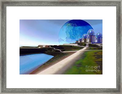 Light Path Framed Print by Corey Ford