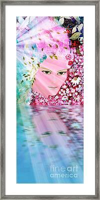 Holy Spirit Reflection Framed Print