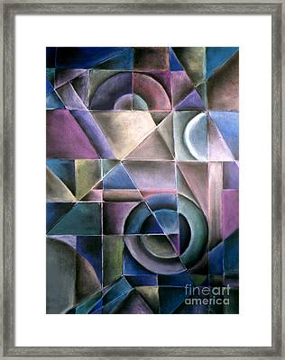 Light Patterns 1 Framed Print