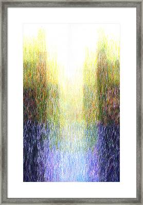 Light Picture 221 Framed Print
