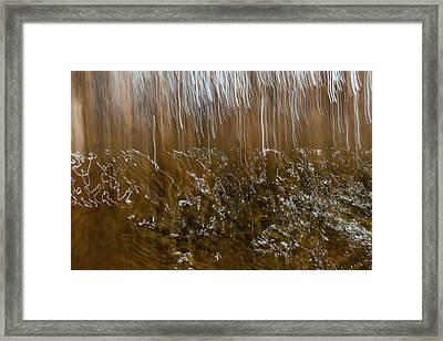 Framed Print featuring the photograph Light Rain by Deborah Hughes